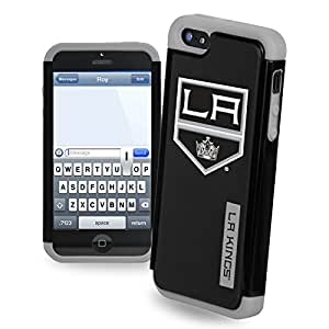 Forever Collectibles NHL Dual Hybrid iPhone 5/5S Rugged Case - Los Angeles Kings