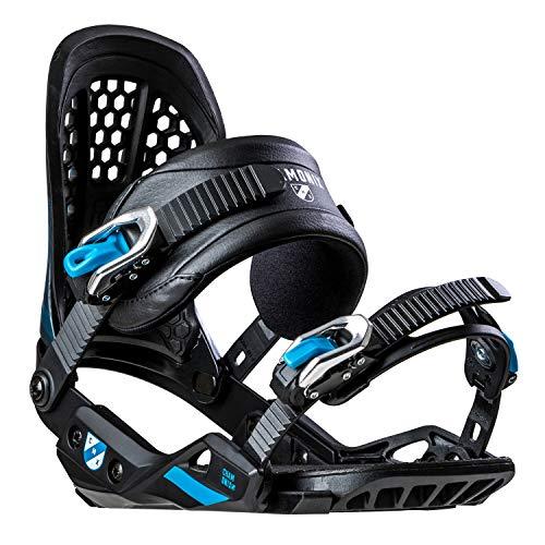 Chamonix Cornu Mens Snowboard Bindings Black/Blue Sz L (9-13)