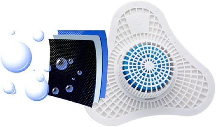 Filtro Inodoro Desodorante Urinario Desodorante Bola Arom/ática Bloque Tri/ángulo Salud Bola Orina Incienso Palos,011Pair