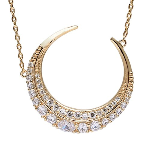 gold-half-moon-necklace-crescent-moon-jewelry-gold-cubic-zirconia-necklace-the-moon-pendant-necklace