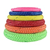small trees for landscaping SGT KNOTS Arborist Bull Rope (9/16 inch) - ALL GEAR Tree Rigging Line - Double Braided Core with Husky Urethane Coating - for Gardening, Landscaping, Home Improvement (200 ft - Coil - Yellow)