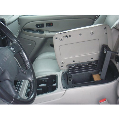 Console Vault GMC Sierra / Yukon Denali / Yukon Denali XL - Floor 2003-2006 - 1002GMC - Massive 12 Gauge Cold Rolled Plate Steel, Welded Tab And Notch Seams - Superior 3 Point Locking System Resists Prying - Drill Resistant Locks - Easy 10 Minute Installation