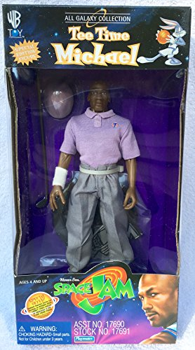 TEE TIME MICHAEL JORDAN from the movie SPACE JAM All Galaxy Collection 9 Inch Special Edition 1996 Action Figure & Accessories