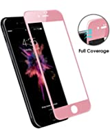 Bepack iPhone 7 Plus/ 8 Plus Glass,3D Full Coverage Tempered Glass Screen Protector Perfect Fit for Apple 5.5 inch