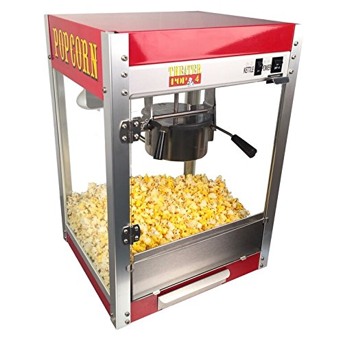 - Theater Pop 4-Ounce Popper Popcorn Machine