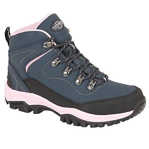 l'escursionismo al Navy scarpe in 35 nei Stivaletti 5 leggera 42 da pelle per impermeabile Pink donna disponibili dal ideali numeri 4qnUwC8xFn