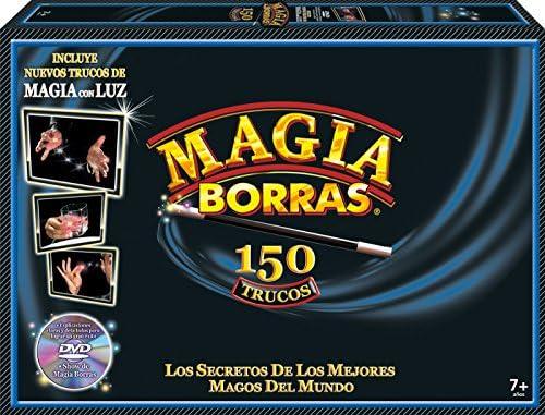Educa Borrás - Magia Borrás, 150 Trucos, con luz y DVD (16581): Amazon.es: Juguetes y juegos