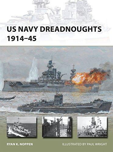 US Navy Dreadnoughts 1914-45 (New - Model Vanguard