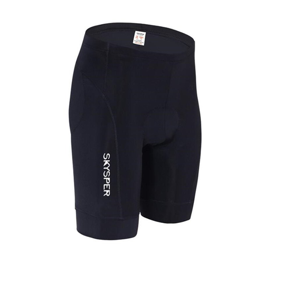 Cycling Shorts, Man Cycling 3D Gel Capro Bicycle Shorts Comfortable Anti-Slippery Breathable 3D Padded Cushion Underwear