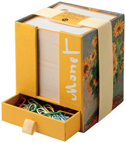 The Metropolitan Museum of Art Note Cube, Monet Sunflowers (MB11227)