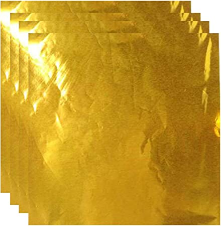 Gilded Baking Wrapping Paper Aluminum Foil Package Paper Candy Chocolate