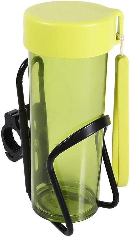 Noir Porte-gobelets pour moto adaptateur pour bouteille support de bouteille porte-gobelets pour moto support de bouteille deau