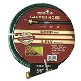 Grip Tight Tools PVC Garden Hose, Green (25-Foot)