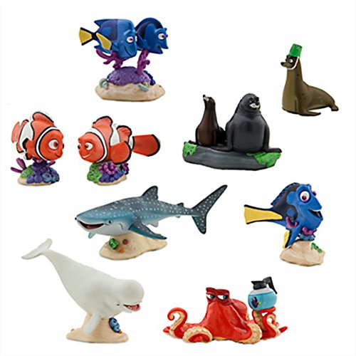 Disney Store Finding Dory Deluxe Figure Play Set