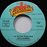 Fats Domino 45 RPM Let The Four Winds Blow / Three Nights A Week