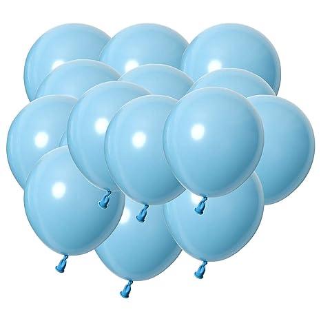 LAAT 200 Piezas de Globos de Color Sólido para Cumpleaños ...