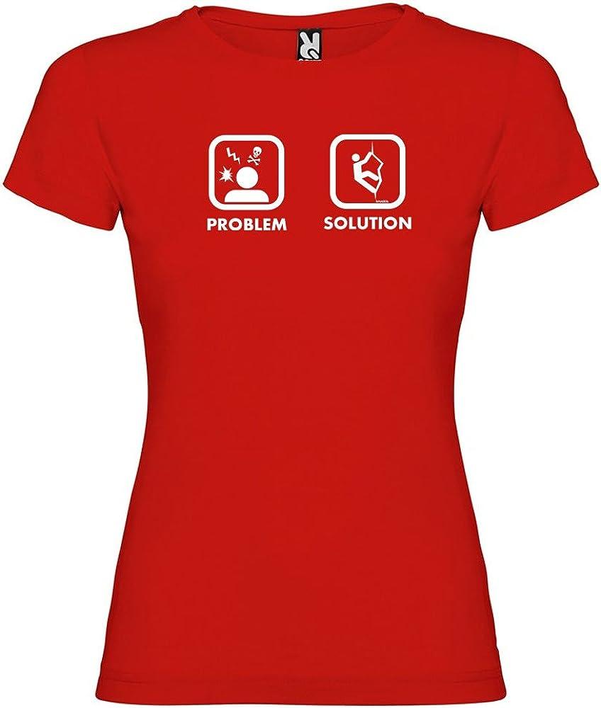 Camiseta Escalada Problem Solution Climb Manga Corta Mujer ...