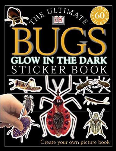 Ultimate Sticker Book: Glow in the Dark: Bugs (Ultimate Sticker Books)