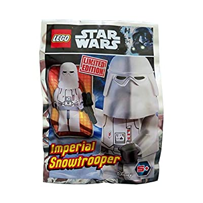 LEGO Star Wars Minifigure - Imperial Snowtrooper (with Blaster) Limited Edition Foil Pack: Toys & Games