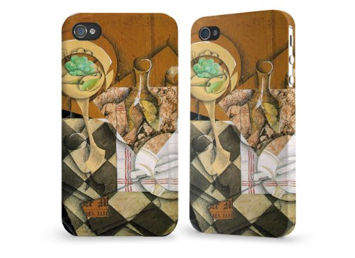 "Hülle / Case / Cover für iPhone 4 und 4s - ""Plate of Fruit"" by Juan Gris"