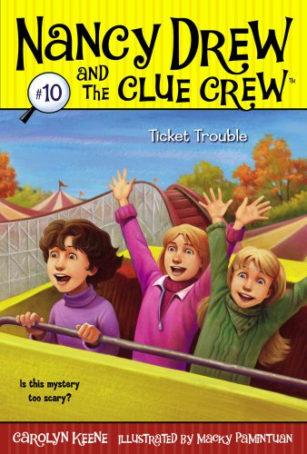 Ticket Trouble (Nancy Drew and the Clue Crew Book 10) ()