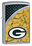 Zippo NFL Green Bay Packers Street Chrome Pocket Lighter