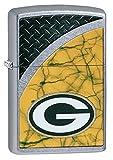 Zippo NFL Green Bay Packers Street Chrome Pocket Lighter