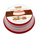 CookArt Strainer Collapsible Colander Microwave Plate Food Cover,...