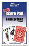 Jumbo Size Score Pad for Bridge & All Card Games