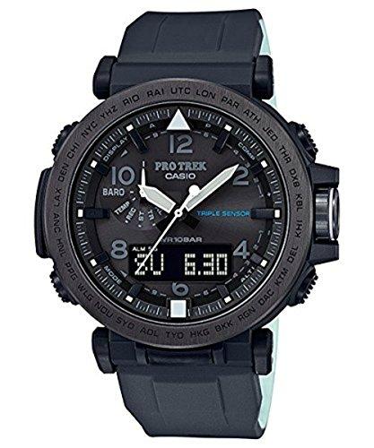 Casio Protrek Battery (Casio Men's 'PRO TREK' Quartz Resin and Silicone Casual Watch, Color:Black (Model: PRG-650Y-1CR))