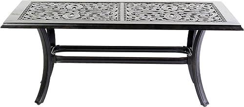 Patio Coffee Table Cast Aluminum – Desert Bronze