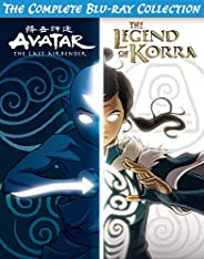 Avatar & Legend of Korra Complete Series Collection [Blu-