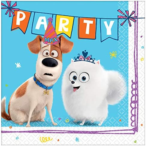 THE SECRET LIFE OF PETS 2 PLASTIC TABLE COVER ~ Birthday Party Supplies Cloth