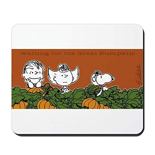 sunmoohat - Halloween in The Pumpkin Patch - Non-Slip Rubber Mousepad, Gaming Mouse Pad