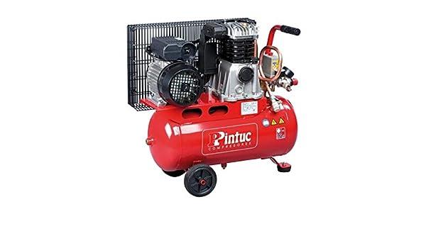 Pintuc; MK 102-25-2M 25ltr 2CV; Compresor de aire portátil, transmisión por correa, serie