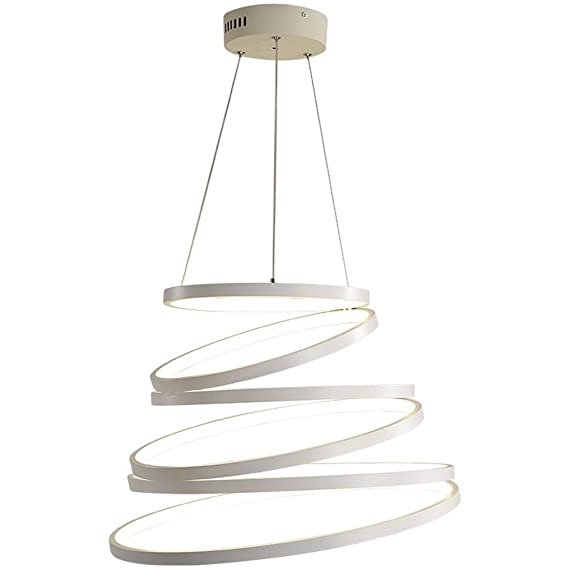Design Anneaux Moderne Led Lustre Suspension Led Led Eclairage De