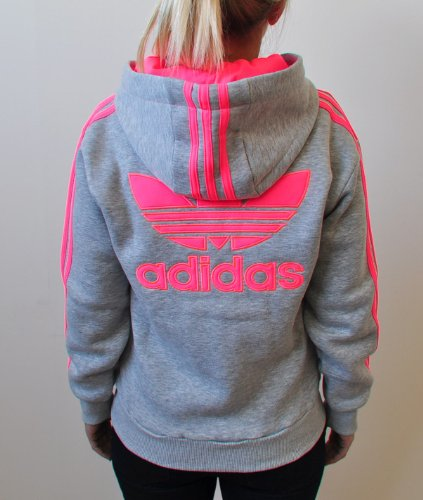 adidas originals neon banded embroidered trefoil logo sweashirt hoodie for women buy online in. Black Bedroom Furniture Sets. Home Design Ideas