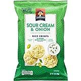 gluten free cream of rice - Quaker Rice Crisps, Sour Cream & Onion, 3.03 oz Bag (Packaging May Vary)