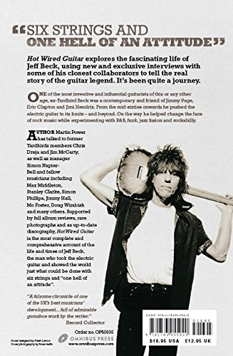 Martin Power: Hot Wired Guitar - The Life Of Jeff Beck: Martin Power ...
