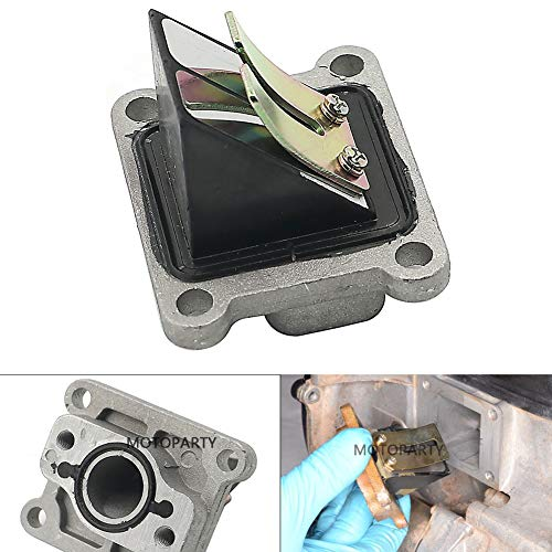 - Motoparty LT80 Crankcase Reed Block Valve Assembly For Suzuki ATV Quadsport 80 LT80 Valve Assy Reed 2x4 1987-2006,13150-40B00