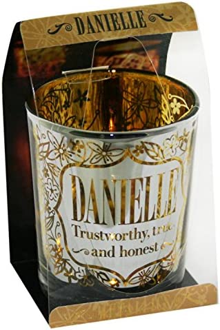 Personalized Metallic Candle Pots Metallic Candle Pots Danielle