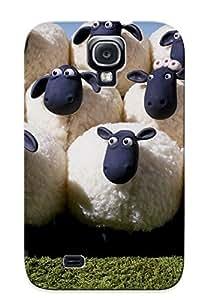BSJGCff533bfNuH Case Cover Shaun The Heep Cartoon Country Haun Heep Galaxy S4 Protective Case