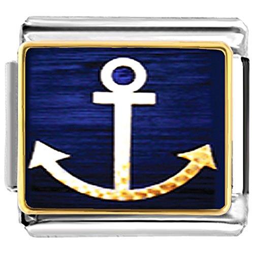 LilyJewelry Anchor Symbol Photo Italian -