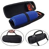 MASiKEN Protective Case EVA Hard Travel Carrying Case Shockproof Storage Bag for JBL Charge 3 Speaker & Charger
