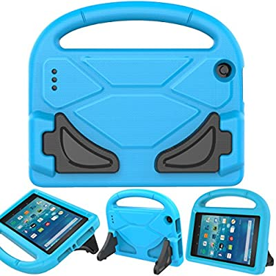 All New Fire 7 2017 Case, Fire 7 2015 Case, YUANFAN Light Weight Kids Shock Proof Stand Cover for Amazon Fire 7 Tablet(5th Generation,2015 Release and 7th Generation,2017 Release) from YUANFAN