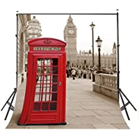 5x7ft Exquisite London BigBen tower river Photography Backdrops wall 251