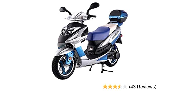 amazon com: tao smart dealsnow brings brand new 150cc gas fully automatic  street legal scooter taotao 150cc with matching trunk included - choose  your