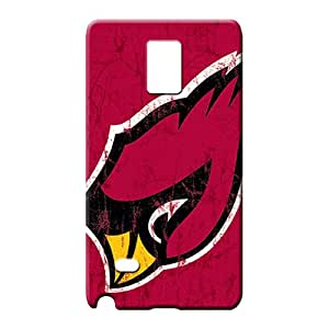 samsung note 4 Protection Designed Fashionable Design phone carrying cover skin arizona cardinals nfl football