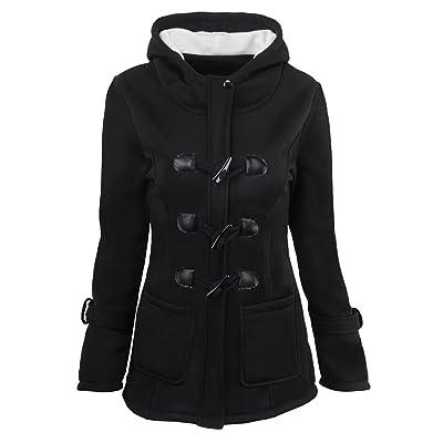 0fcf7247e ainr Women's Winter Warm Front-zip Hoodies Sweatshirt Plus Size Jacket