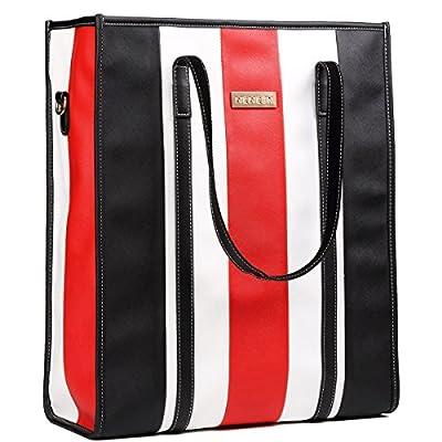 free shipping Laptop Bag for Women- Leather Carrying Travel Business Computer Shoulder Bag Briefcase Handbag for Women